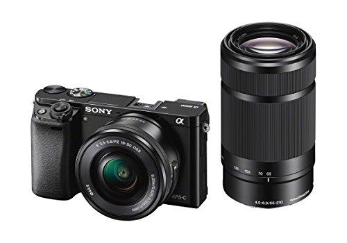 Sony A6000 - Kit cuerpo + objetivos 16 - 50 mm y 55 - 210 mm