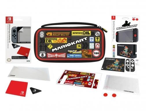 Kit de Protección Mario Kart para Nintendo Switch