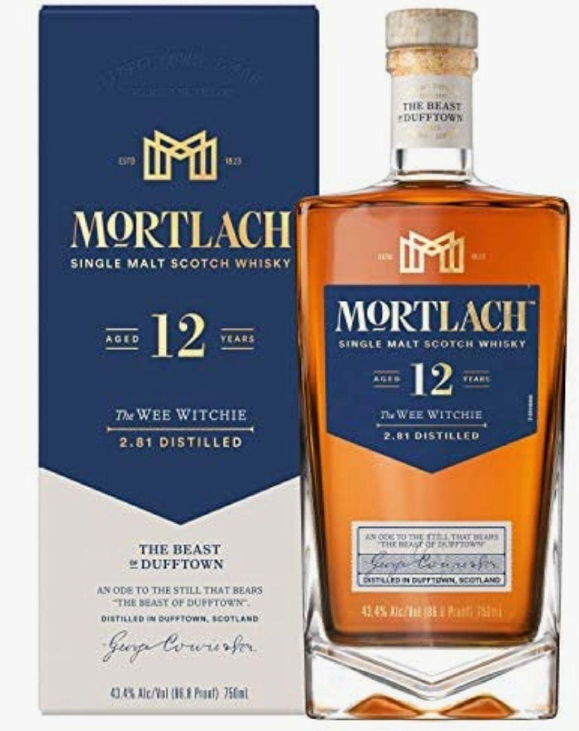 Mortlach 12 años Whisky Escocés Single Malt - 700 ml