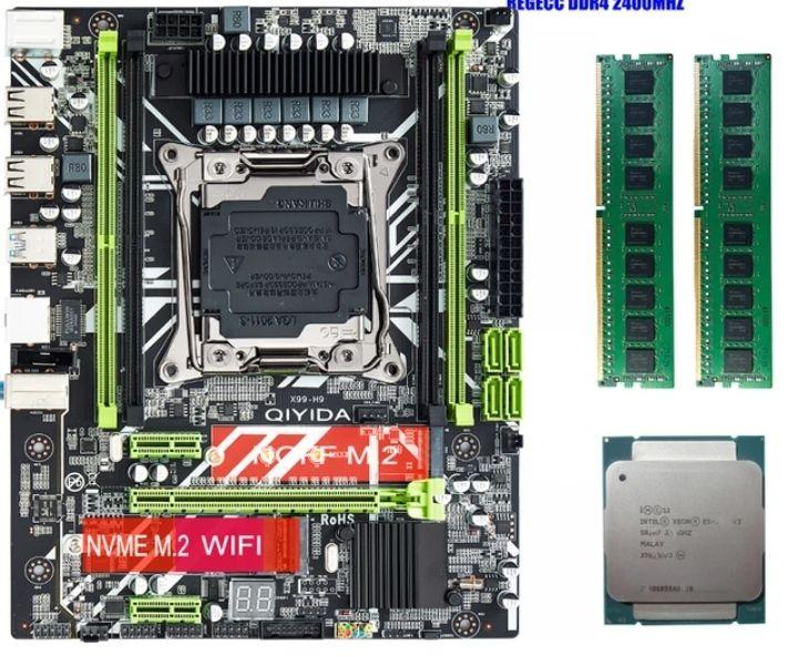 Pack procesador, placa base y 16 gb de ram