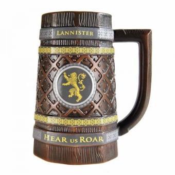 Jarra de cerveza Game of Thrones Casa Lannister ( en algunas tiendas físicas)