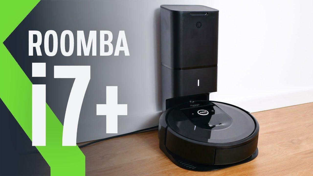 Robot aspirador iRobot Roomba i7+ (i7558) con vaciado automático