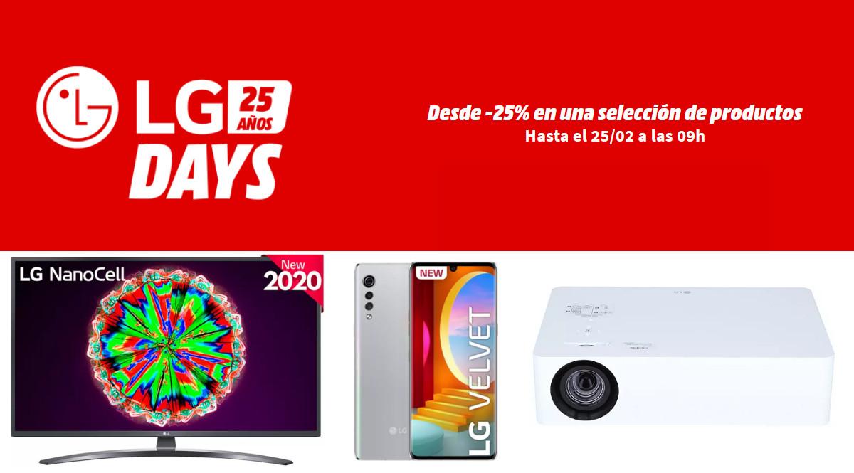 LG Days en MediaMarkt - Selección de los 10 mejores chollos.