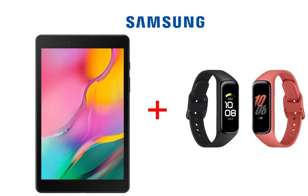 "SÓLO APP - Tablet Samsung Galaxy Tab A (2019) 8"" + Pulsera Samsung Galaxy Fit 2"