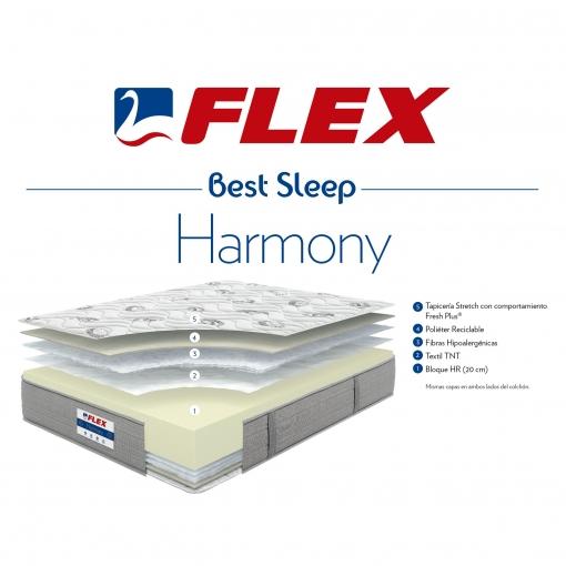 Colchón HR FLEX Harmony 19 135 x 190 cm