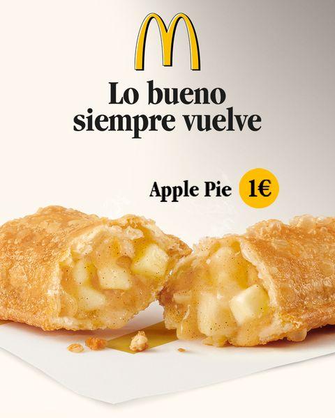 Vuelve el Apple Pie a McDonald's