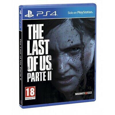 The Last Of Us Parte II PS4 Juego Físico