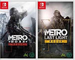 Nintendo Switch :: Metro 2033 Redux o Metro: Last Light Redux