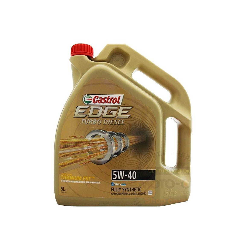 Titanio Castrol Edge FST 5W-40Turbo Diesel 5litros