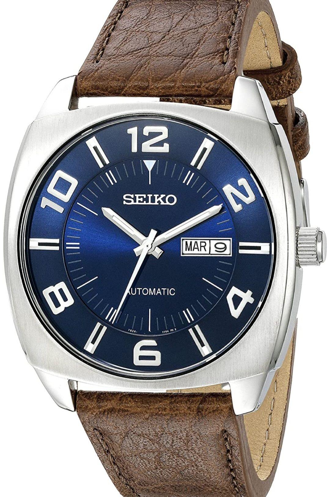Seiko Automático SNKN37 (Envío prioritario e impuestos incluidos)