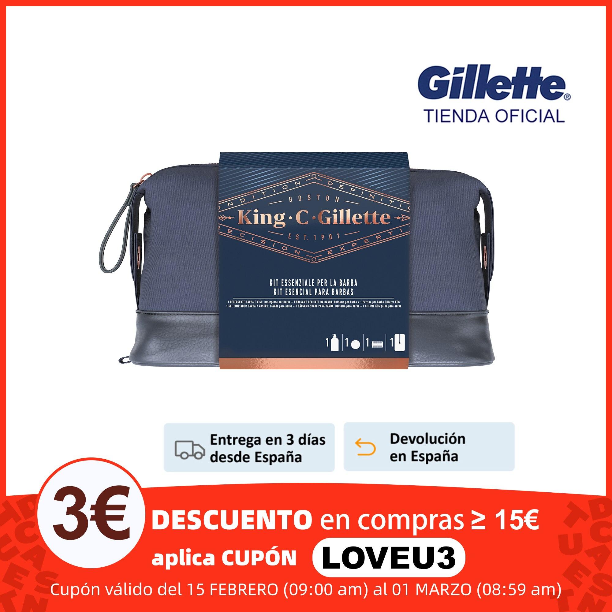 Pack GILLET KING para barbudos tienda Gillet