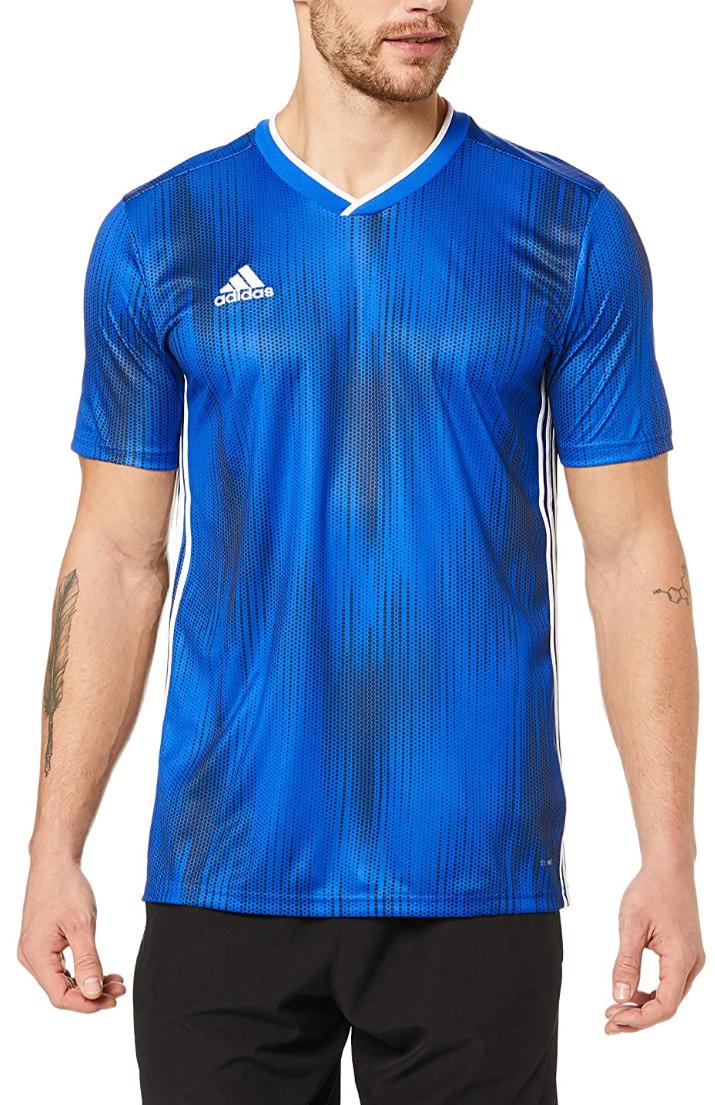 Adidas - Camiseta deportiva para niños (9-10 años)