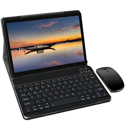Tablet 10 Pulgadas, Android 9.0 YESTEL Tablets, 4 GB de RAM, 64 GB Ampliables hasta 128 GB, Procesador Quad-Core,