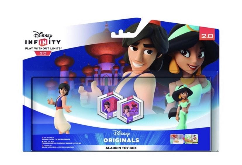 DISNEY Pack Disney Infinity 2.0: Aladdin Toy Box