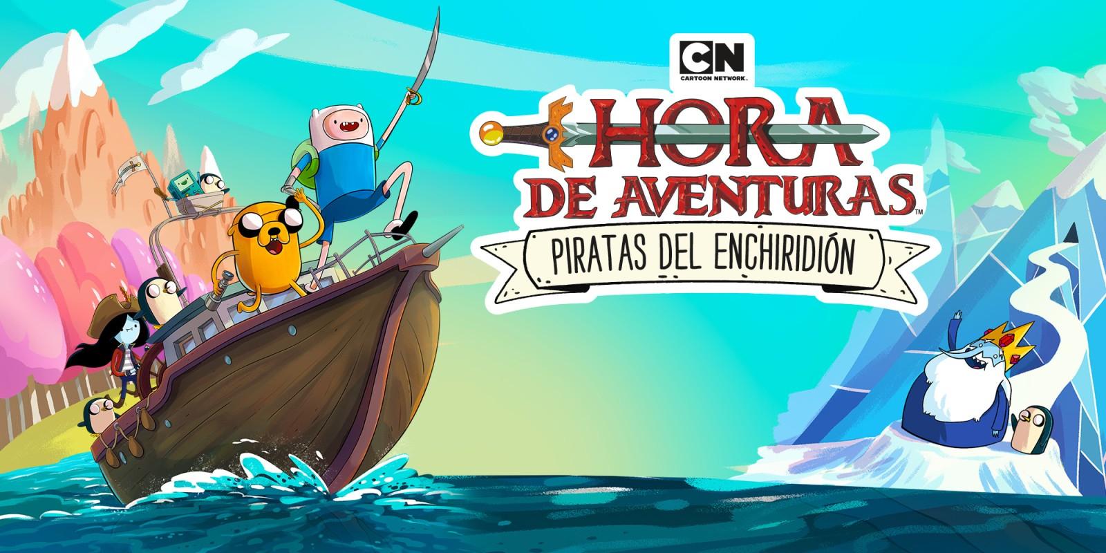 Cartoon Network Hora de aventuras: Piratas del Enchiridión.NINTENDO SWITCH