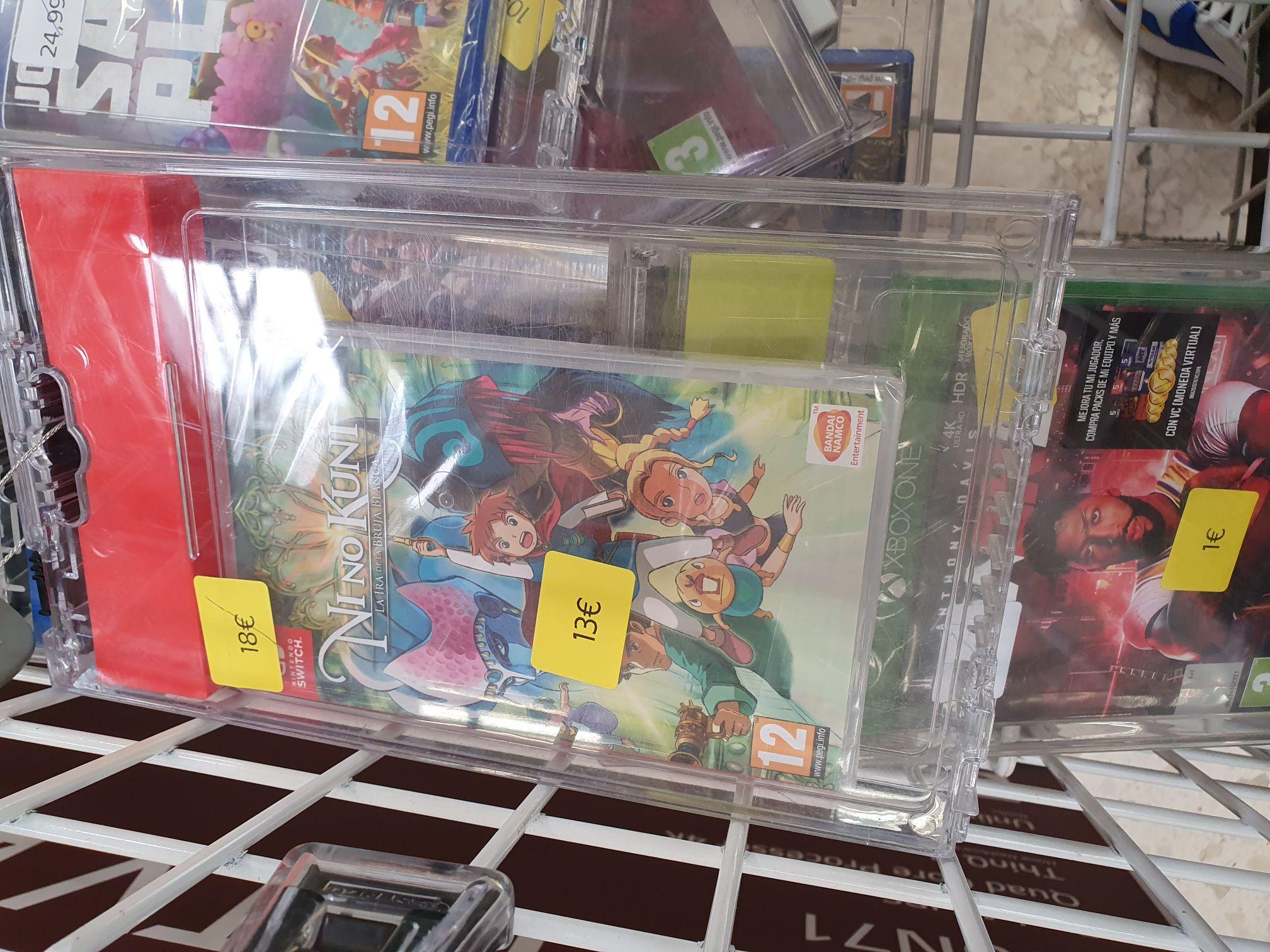 Ni No Kuni: La ira de la Bruja Blanca, Nintendo Switch - Carrefour San Juan, Alicante