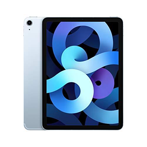 Apple iPad Air (de 10,9 Pulgadas, con Wi-Fi + Cellular y 64 GB) - Azul Cielo (Ultimo Modelo, 4.ª generación)