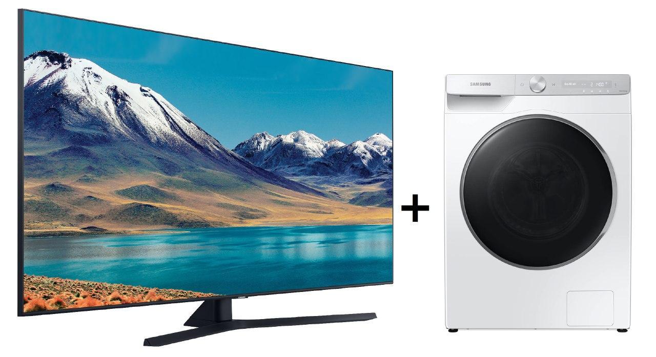 """Samsung 50"""" Crystal +Lavadora QuickDrive 9KG solo 980€"""