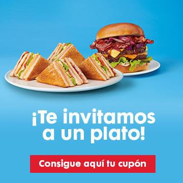 Plato vip's gratis con Compra minima