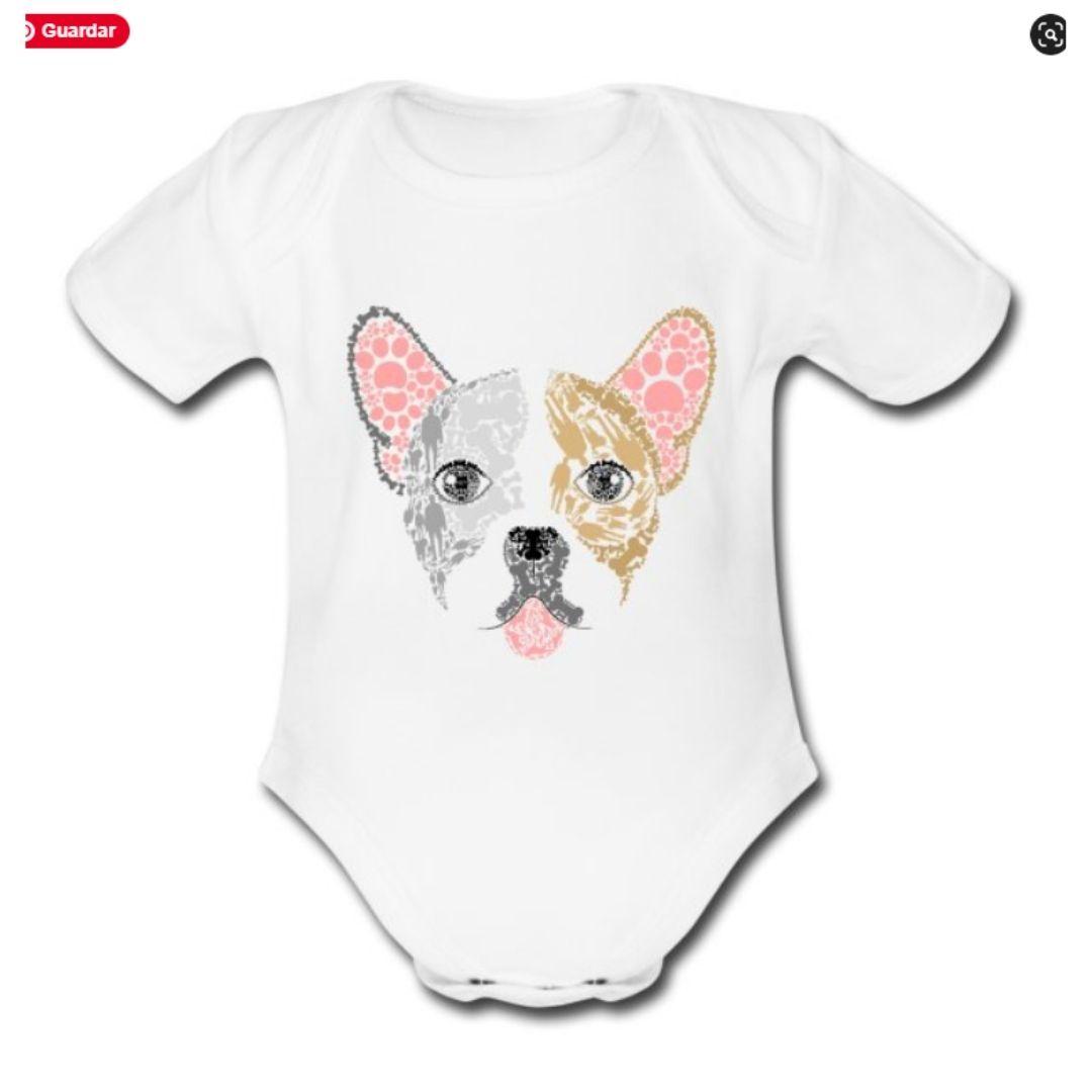 15% de descuento Bodys orgánicos para bebés y ropa ecológica para adultos con diseños de perros
