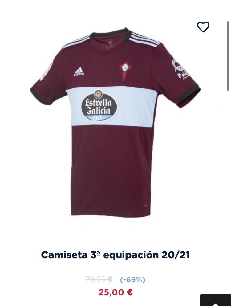 Camiseta Celta de Vigo 3ª equipación 2021