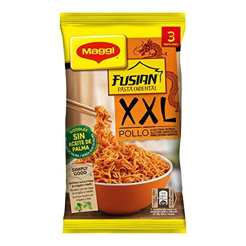 Maggi Pasta Oriental XXL Pollo - Fideos Orientales 3 raciones