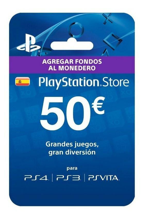 Tarjeta 50€ PSN otra vez con descuento