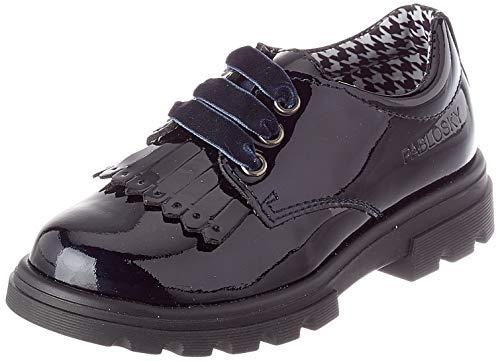 Oxford zapatos de cordones para niñas.