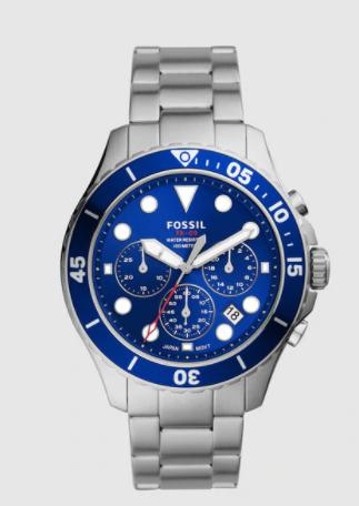Reloj de hombre Fossil FB-03 FS5724 cronógrafo de acero