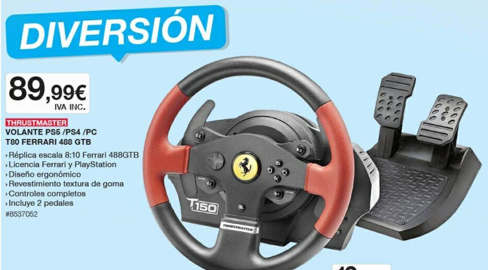 Volante Ferrari Thrustmaster T150