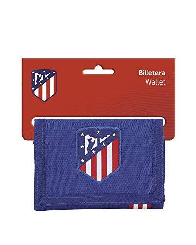 """Atlético de Madrid """"In Blue"""" Oficial Cartera Billetera"""