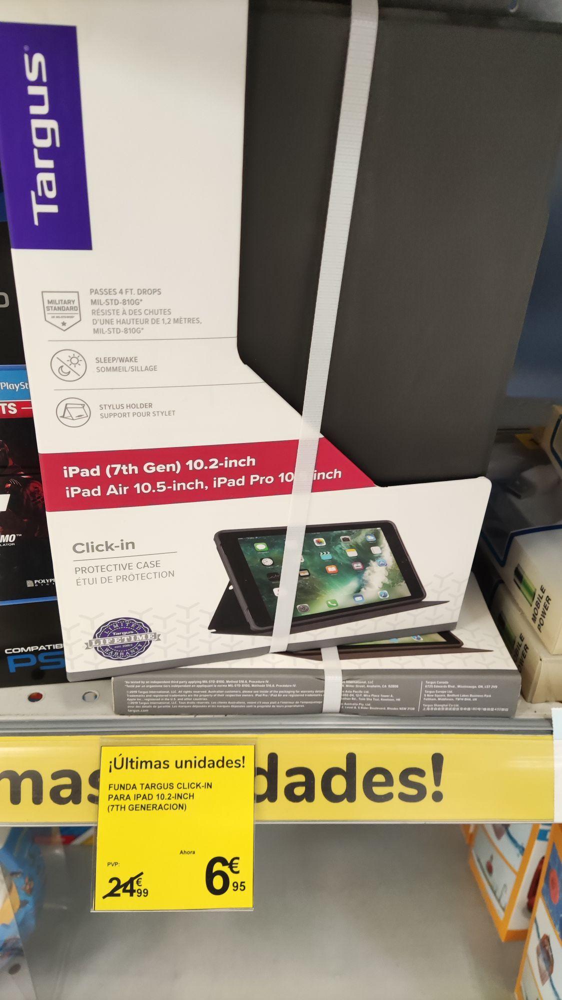 """Funda Targus para iPad 10,2"""" de 7 generación"""