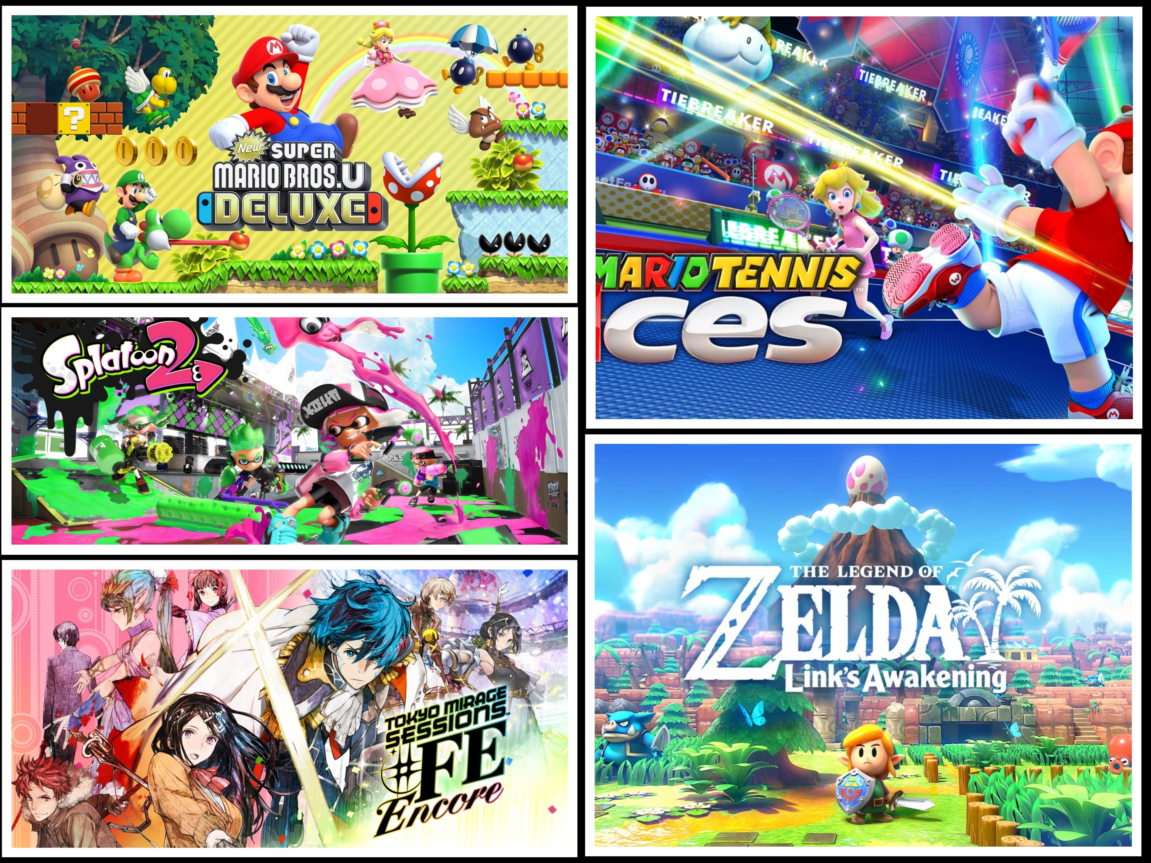 5 juegos de Switch en promoción [eShop HK]