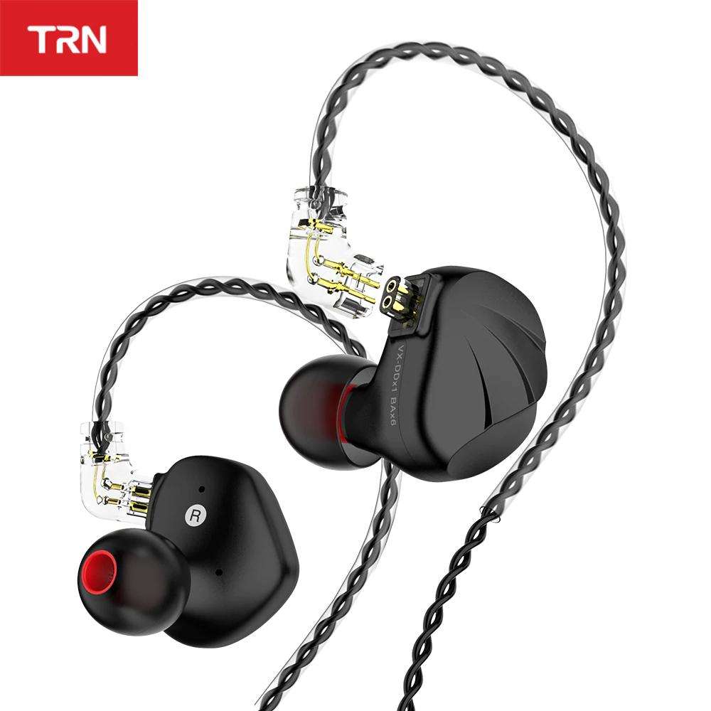 Auricular Hibrido TRN VX (1dd + 6ba) - cable reemplazable