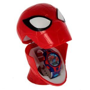 Spiderman Reloj Digital con Estuche 3D