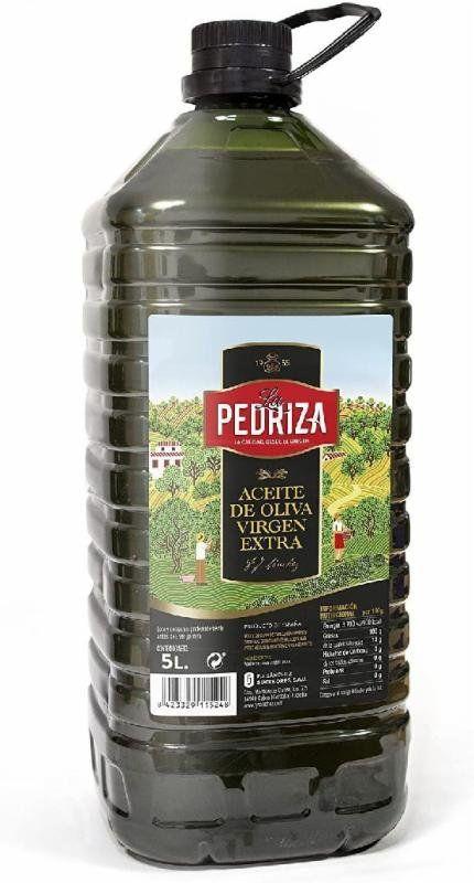 Aceite de oliva virgen extra la pedriza 5l (Recogida gratis en 2horas)