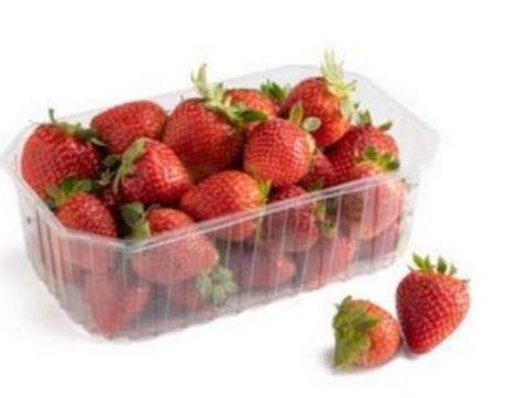 Bandeja de fresas de 500 g (desde el sábado 27 en tienda física Aldi) // En Lidl (1, 39€)