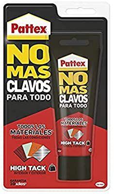Pattex No Mas Clavos Para Todo HighTack Adhesivo de montaje resistente a temperaturas extremas