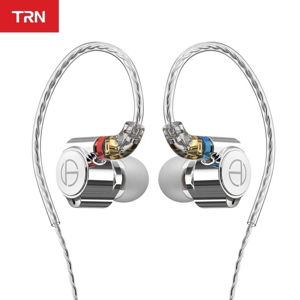 Auriculares hibridos TRN TA1 (1dd + 1ba) cable mmcx