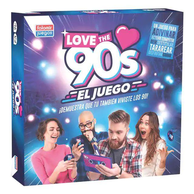 Juego de mesa para nostálgicos. Love the 90s. Envío por 1€ a Supercor