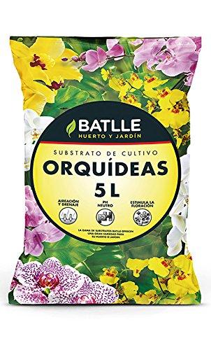 Sustrato Orquídeas 5l. - Batlle
