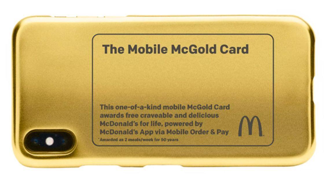 [EEUU] HAMBURGUESAS McDonald's DE POR VIDA GRATIS
