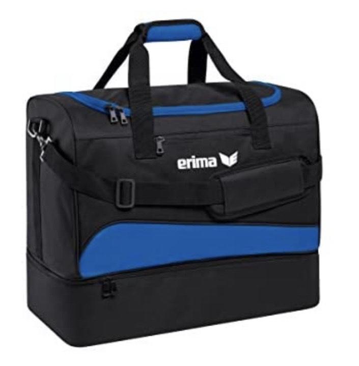 Erima – Bolsa de deporte con compartimento inferior
