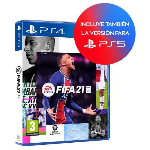 Fifa 21 ps4 por 19,90€ o edición con camiseta + DLC Kit Luma por 24,90€