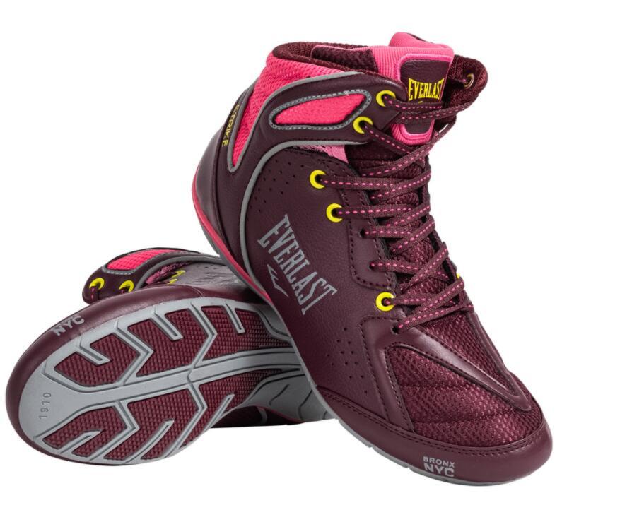 TALLAS 37, 38 y 39 - Zapatillas de Boxeo para Mujer Everlast Strike