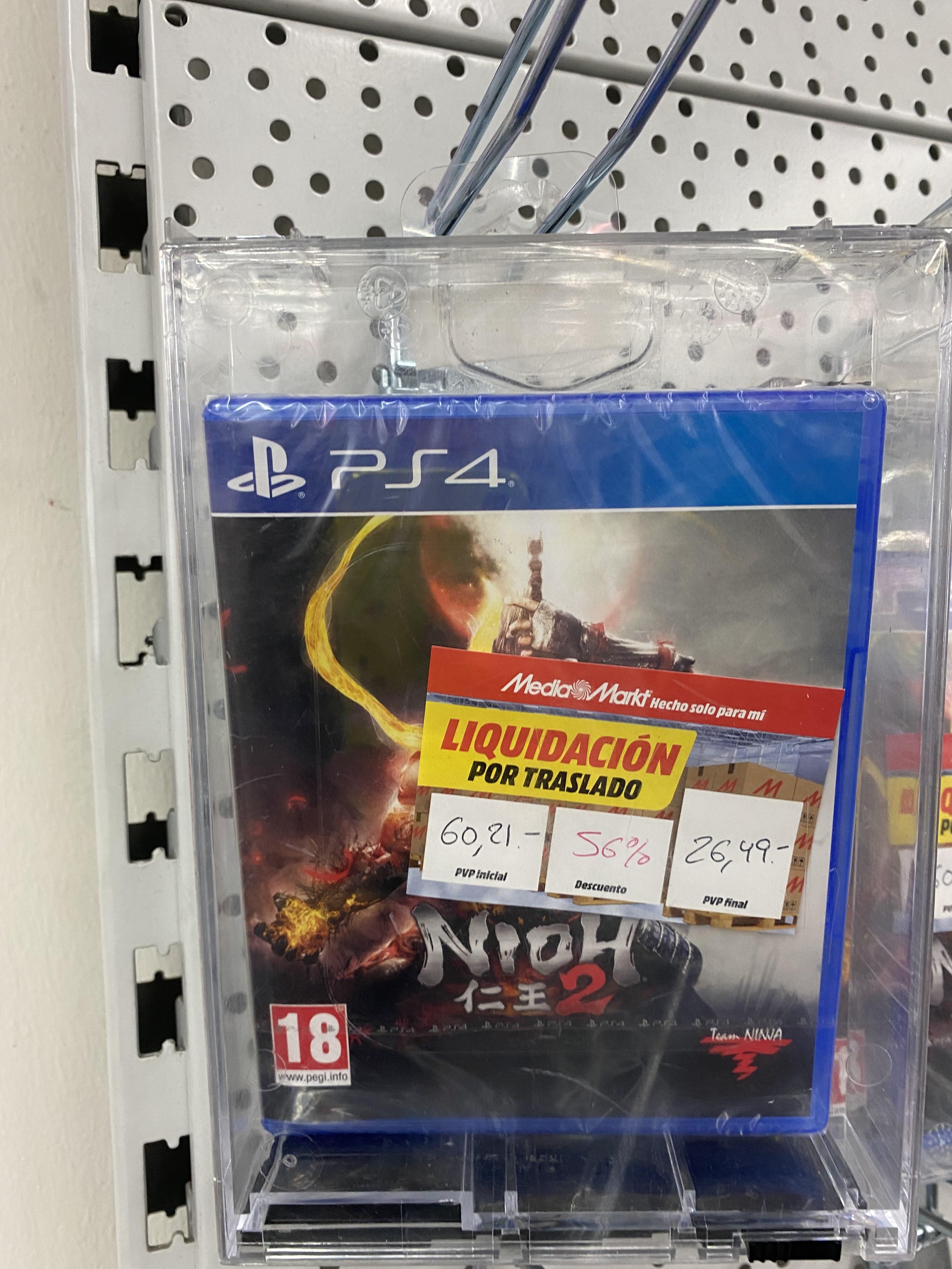 Nioh 2 y Watch dogs legion con actualización gratis a PS5.