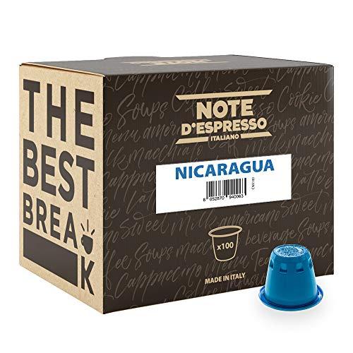 100 cápsulas compatibles Nespresso Nicaragua , Brasil y Guatemala