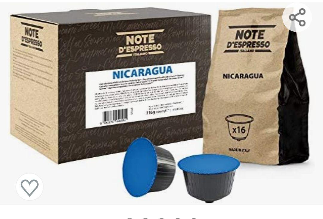 48 cápsulas Cápsulas de café de Nicaragua Exclusivamente Compatibles con cafeteras de cápsulas Nescafé* y Dolce Gusto*