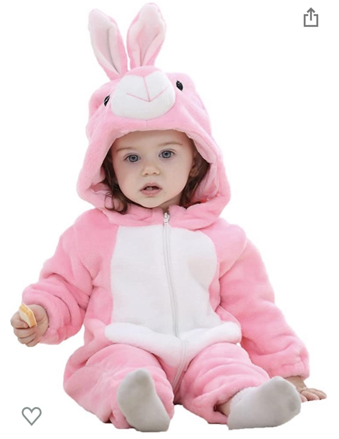 Aplicar cupón Bebé Ropa Mameluco Niños Niñas Pelele Pijama de Primavera y otoño Franela Traje de Animales