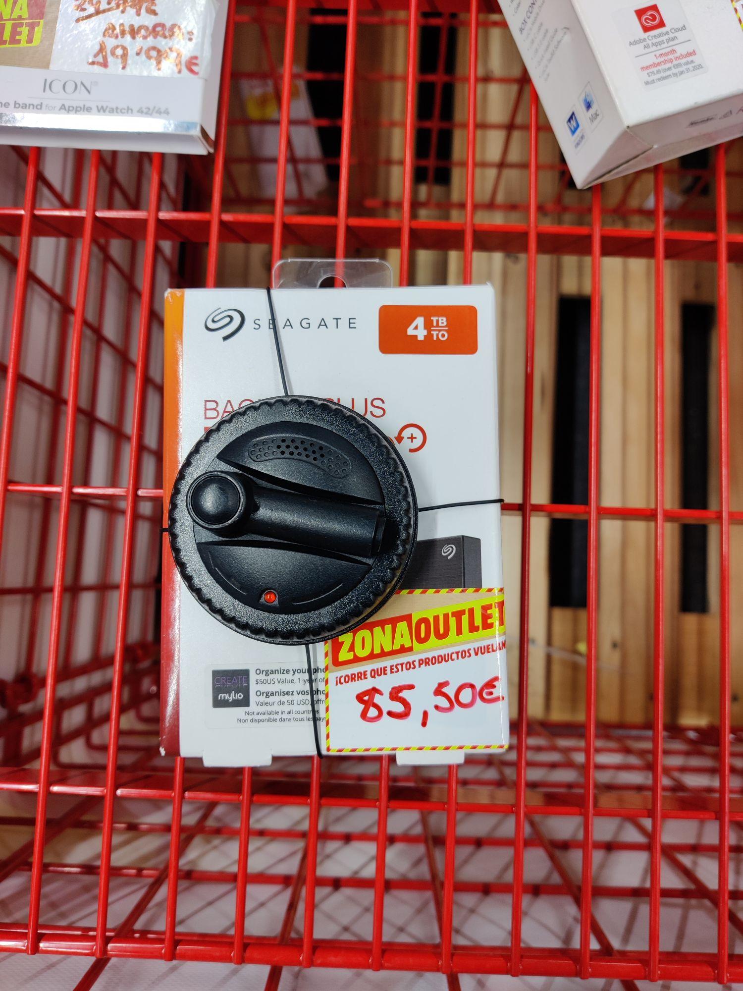Disco Duro Seagate 4 TB Mediamark Lagoh Sevilla (Zona Outlet)
